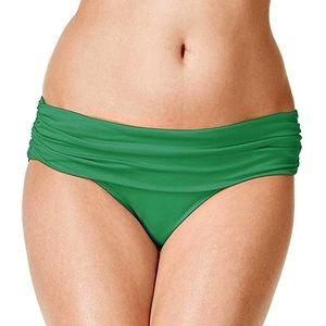 NWT Lauren RL Beach Club Wide Band Bikini Bottom